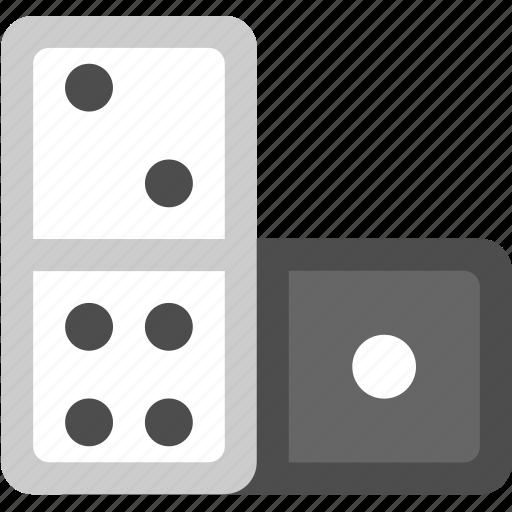 domino, domino game, domino piece, dominos icon