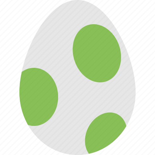 egg, game egg, spotted egg, unhatched egg icon