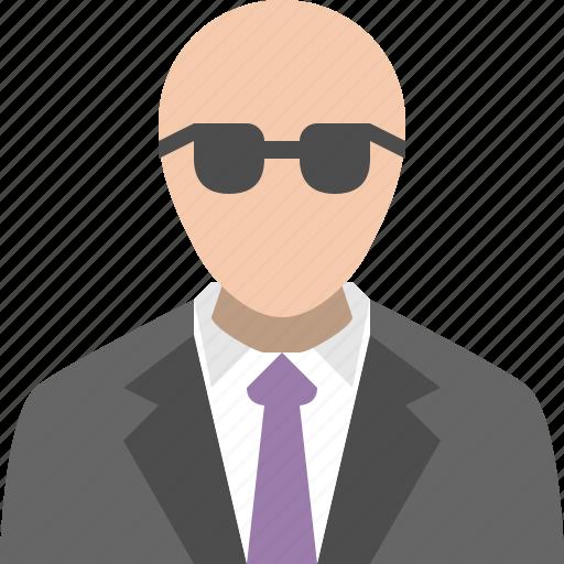 business man, enforcer, manager, salesman icon