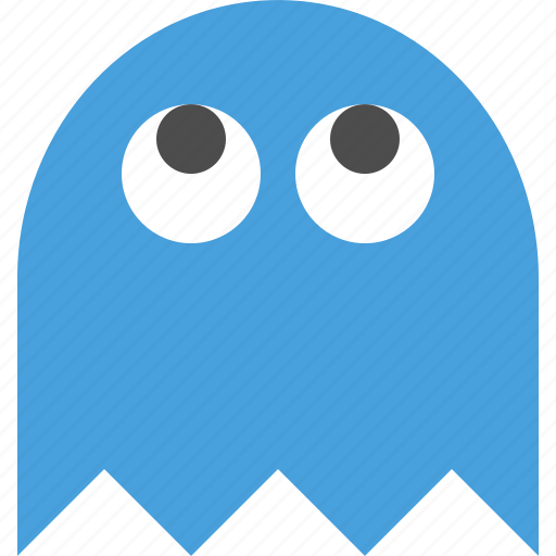 cartoon ghost, game ghost, generic ghost, ghost icon