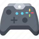 controller, games, gaming, playing, xbox, xbox controller console icon