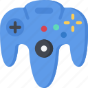 controller, four, games, gaming, n, playing, sixty icon