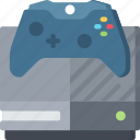 console, games, gaming, one, playing, xbox icon
