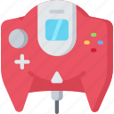 console, controller, dreamcast, games, gaming, playing icon