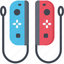 console, controllers, games, gaming, playing, switch icon