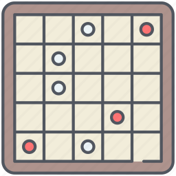 backgammon, chinese, entertainment, game, gaming, strategy icon