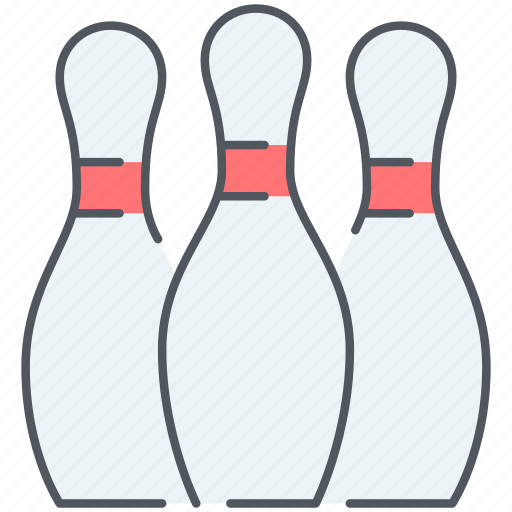 alley, ball, bowling, entertainment, game, gaming, throw icon