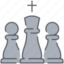checkmate, chess, entertainment, game, gaming, strategy, war icon