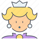 entertainment, game, gaming, mario, princess, queen, super icon