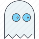 entertainment, game, gaming, ghost, pacman, scary, spooky icon