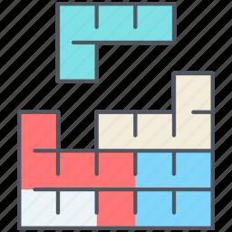 entertainment, game, gaming, retro, strategy, tetris icon