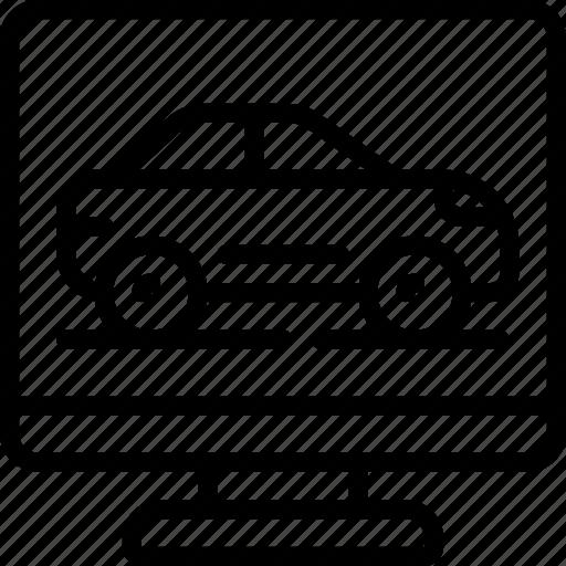 car, game, games, gaming, playing, racing icon