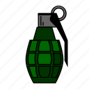 ammo, gaming, grenade, pubg, shooter, shooting, free fire icon