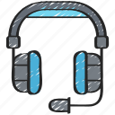 game, gamer, games, gaming, headset, playing icon