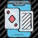 card, game, games, gaming, mobile, phone, playing