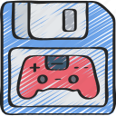 elements, game, games, gaming, playing, save icon