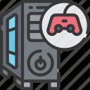 game, gamer, games, gaming, pc, playing icon