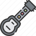 controller, game, games, gaming, guitar, music, playing icon