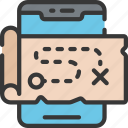 adventure, game, games, gaming, mobile, phone, playing icon