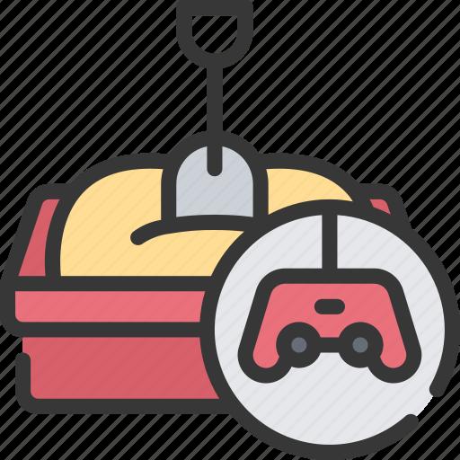 game, games, gaming, playing, sandbox, type icon