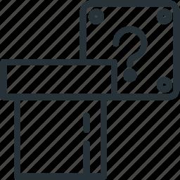 block, gaming, mario, tube icon