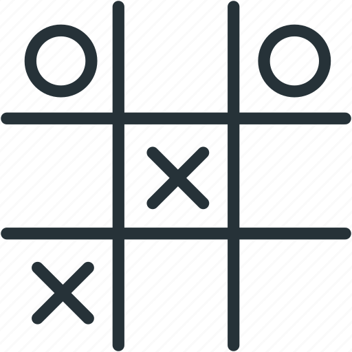 cross, game, gaming, play, square, tac, tic, toe icon