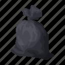 bag, garbage, package, trash, waste icon