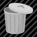 cover, garbage, tank, trash, urn, waste icon