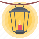 agriculture, candle, farm, garden, lamp, nature icon