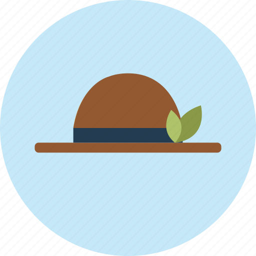 eco, ecology, flower, garden, green, hat, tree icon