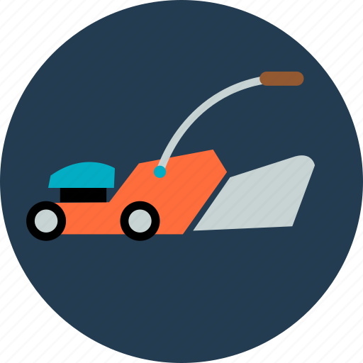 flower, garden, gardening, green, lawn, mower, tree icon