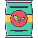 agriculture, farm, fertilizer, garden, nature, sprout icon