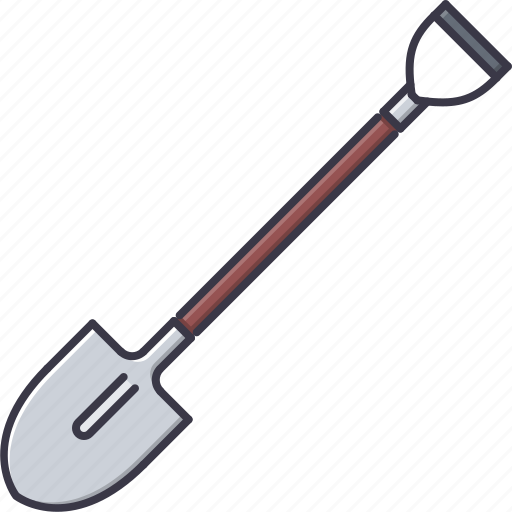 agriculture, farm, garden, nature, shovel icon