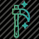 agriculture, farm, garden, scythe icon