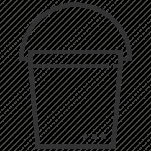 bucket, equipment, garden, instruments, plant, tools icon