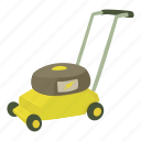 blade, care, cartoon, clipper, compact, cut, lawnmower icon
