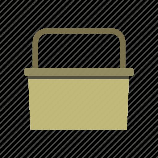 basket, garden, gardening, shopping, work icon