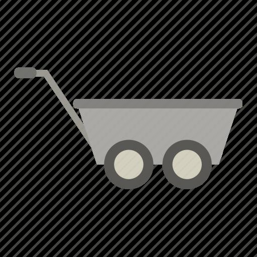Garden, gardening, tool, wheelbarrow, work icon - Download on Iconfinder