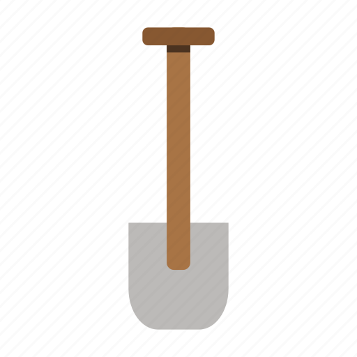 garden, gardening, shovel, tool, work icon