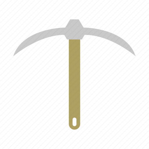Garden, gardening, pickaxe, tool, work icon - Download on Iconfinder