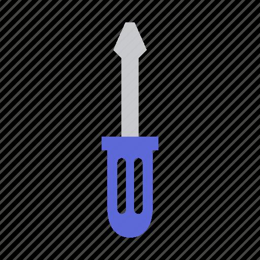 garden, gardening, screwdriver, tool, work icon