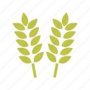 food, garden, gardening, nature, plant, wheat icon