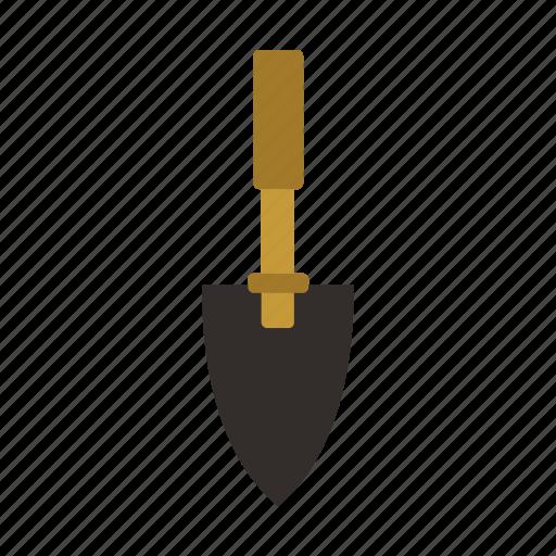garden, gardening, tool, trowel, work icon