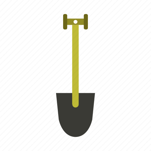 garden, gardening, nature, shovel, tool, work icon