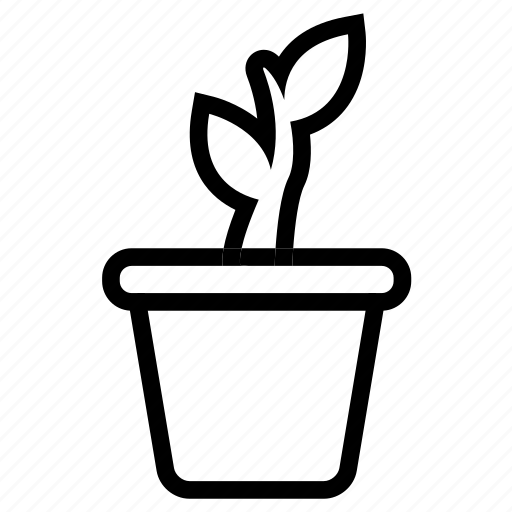 gardening, growing, plant, plant growing icon