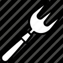 fork, gardening, hand, tools