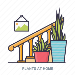 frame, home, plant, plants icon
