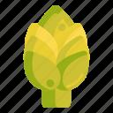 artichoke, vege, vegetables icon