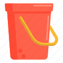 bucket, pail