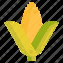 corn, vege, vegetables icon